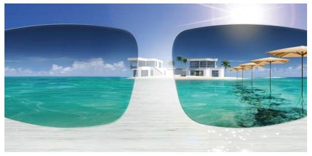 lente polarizzata